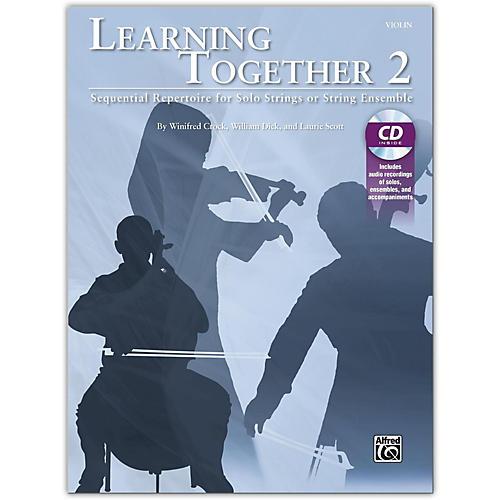 Suzuki Learning Together 2 Violin Book & CD-thumbnail
