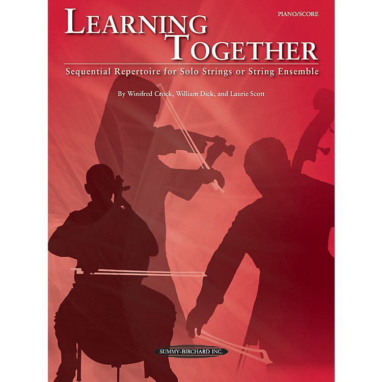 Summy-Birchard Learning Together for Piano/Score (Book)