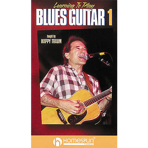 Homespun Learning to Play Blues Guitar 1 (VHS)