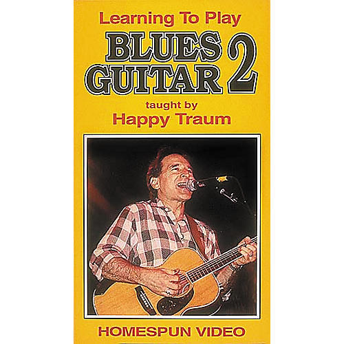 Homespun Learning to Play Blues Guitar 2 (VHS)