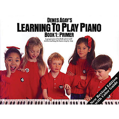 Music Sales Learning to Play Piano Book 1 - Getting Started Yorktown Series Softcover Written by Denes Agay-thumbnail