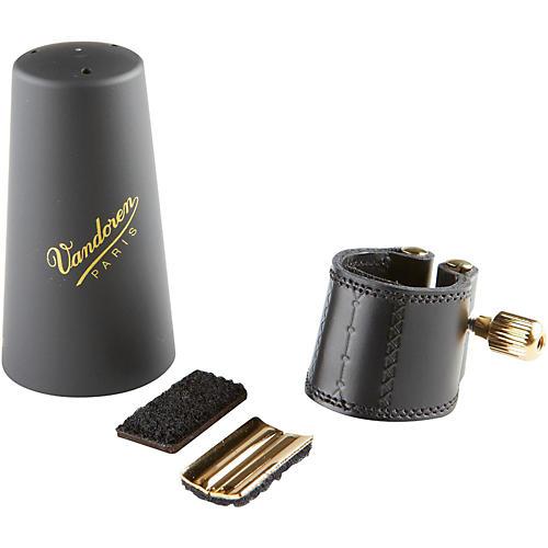 Vandoren Leather Alto Saxophone Ligature with Cap Alto Sax with Plastic Cap
