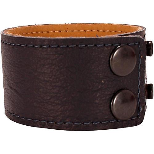 Road Runner Leather Bracelet  Blue