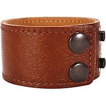 Road Runner Leather Bracelet Dark Tan