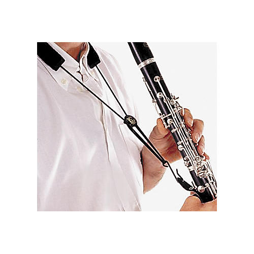 BG Leather Clarinet Strap Leather Strap with Nylon Cord-thumbnail