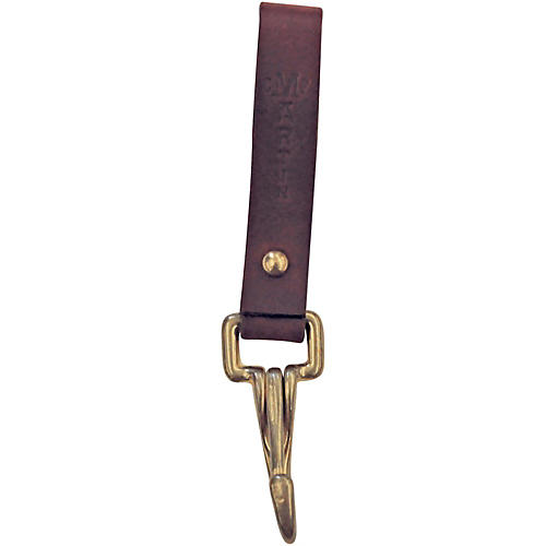 Martin Leather Keychain with Brass Buckle