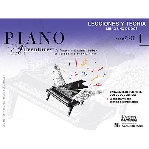 Faber Piano Adventures Lecciones y Teoría - Libro Uno de Dos Nivel Elemental 1 Faber Piano Adventures® by Randall Faber-thumbnail