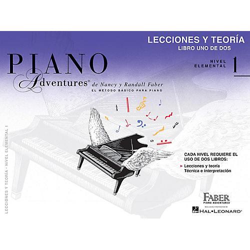 Faber Piano Adventures Lecciones y Teoria - Libro Uno de Dos Nivel Elemental 1 Faber Piano Adventures by Randall Faber