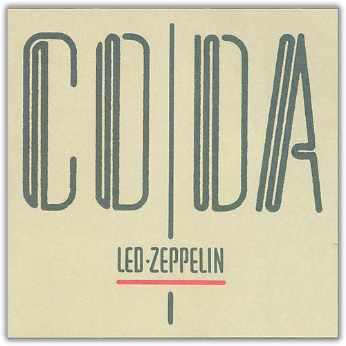 WEA Led Zeppelin - Coda Vinyl LP