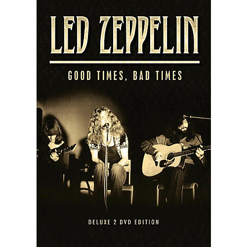 Hal Leonard Led Zeppelin - Good Times, Bad Times 2 DVD Set-thumbnail
