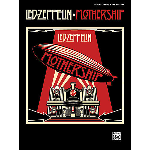 Alfred Led Zeppelin - Mothership - Guitar Tab Songbook-thumbnail