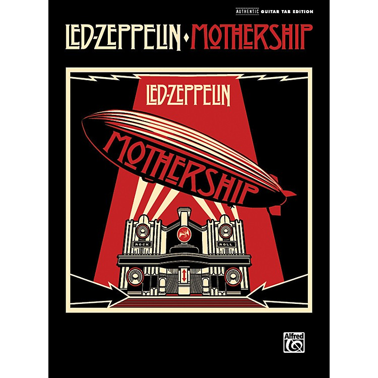 AlfredLed Zeppelin - Mothership - Guitar Tab Songbook