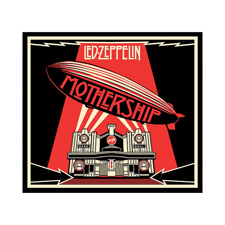 Alfred Led Zeppelin - Mothership DVD and CD Set