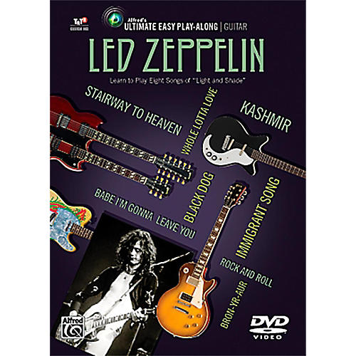 Alfred Led Zeppelin - Ultimate Easy Guitar Play-Along DVD-thumbnail