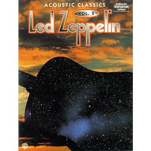Alfred Led Zeppelin Acoustic Classics, Volume 2 Book-thumbnail