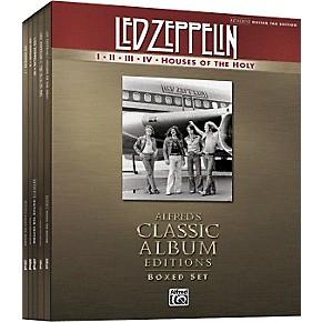 alfred led zeppelin box set i v guitar tab songbook collection musician 39 s friend. Black Bedroom Furniture Sets. Home Design Ideas