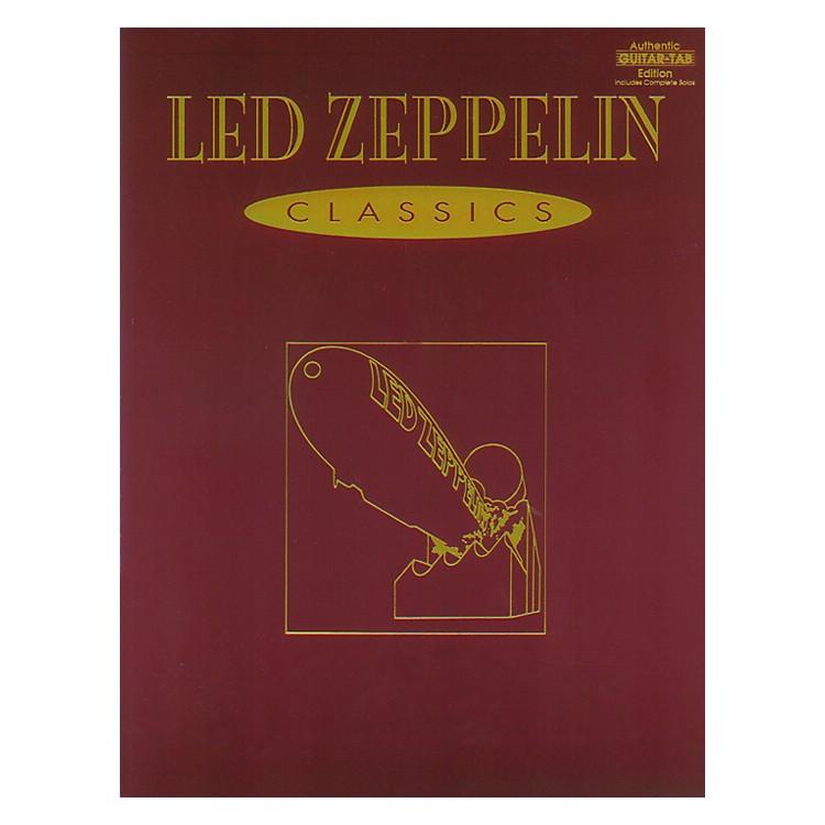 AlfredLed Zeppelin Classics Guitar Tab Book