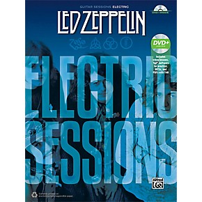 alfred led zeppelin electric sessions guitar tab edition book dvd musician 39 s friend. Black Bedroom Furniture Sets. Home Design Ideas