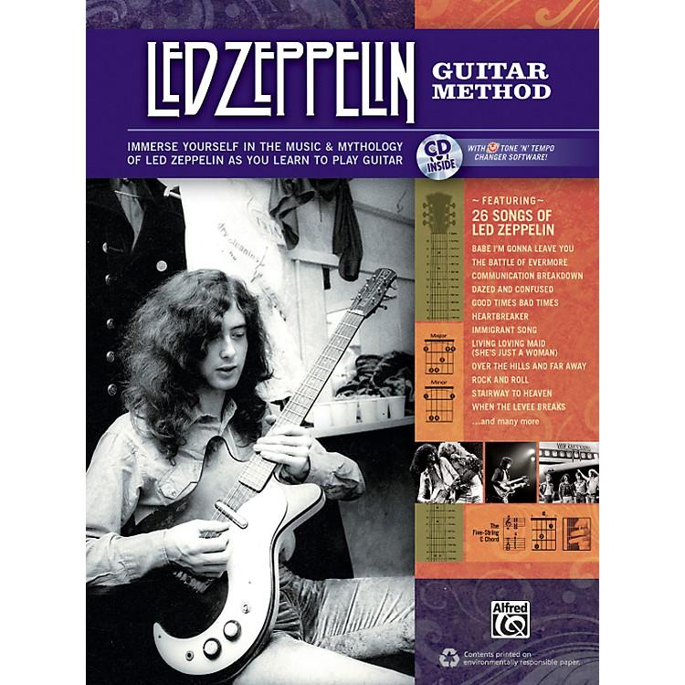 AlfredLed Zeppelin Guitar Method Book/CD