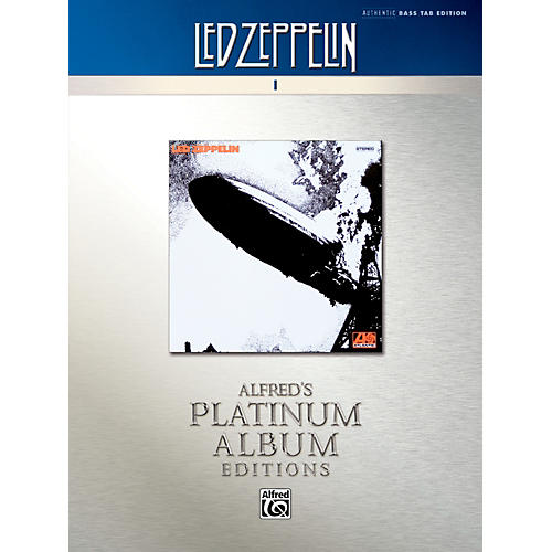 Alfred Led Zeppelin I Platinum Bass Guitar Book-thumbnail