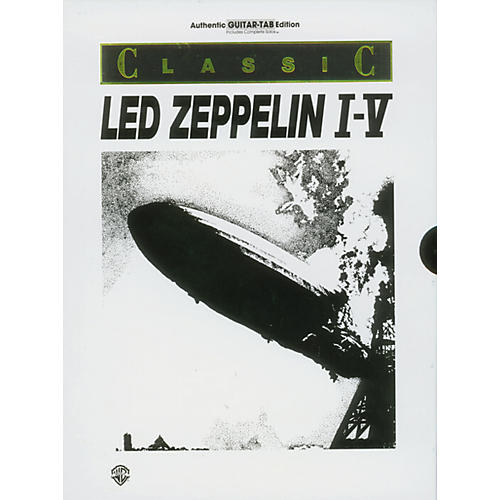Alfred Led Zeppelin I-V Guitar Tab Book