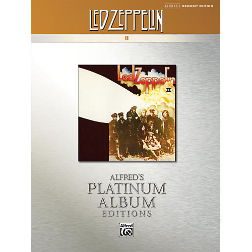 Alfred Led Zeppelin II Platinum Drums (Book)