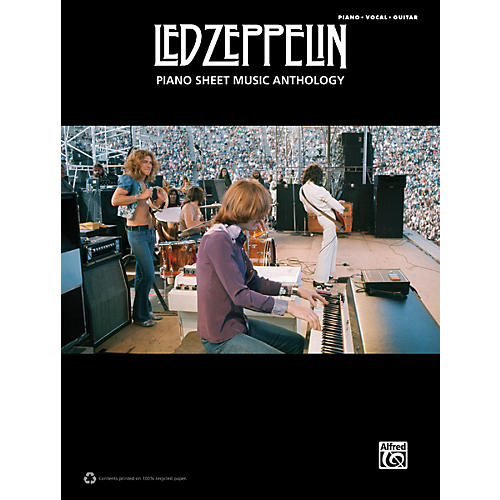 Alfred Led Zeppelin Piano Sheet Music Anthology PVG Book