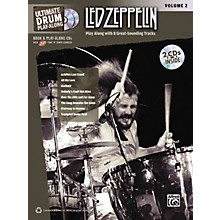 Alfred Led Zeppelin Ultimate Play Along Drums Volume 2 with 2 CD's
