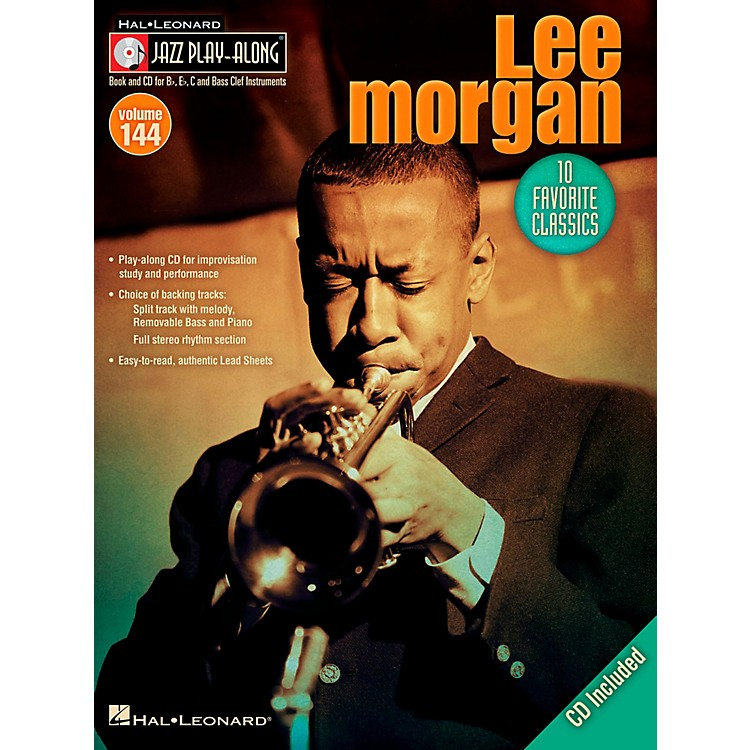 Hal LeonardLee Morgan - Jazz Play-Along Volume 144 Book/CD