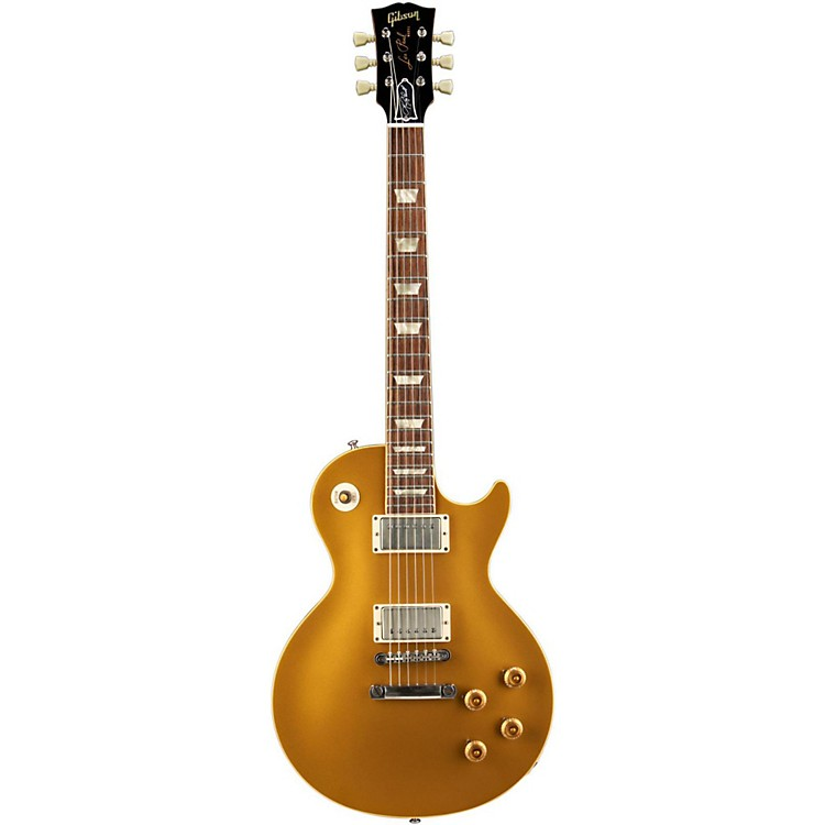 Gibson Custom Lee Roy Parnell Signature 57 Goldtop Electric Guitar Metallic Gold