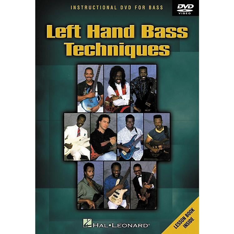Hal LeonardLeft Hand Bass Techniques (DVD)