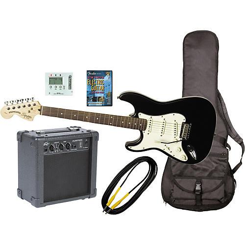 fender left handed electric guitar and amp pack musician 39 s friend. Black Bedroom Furniture Sets. Home Design Ideas