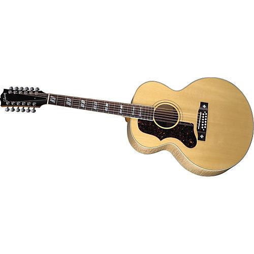 gibson left handed j185 12 string acoustic guitar musician 39 s friend. Black Bedroom Furniture Sets. Home Design Ideas