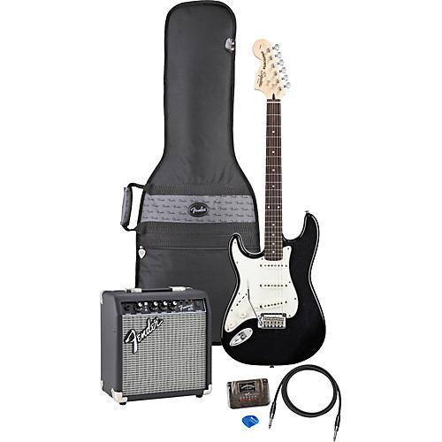 Fender Left Handed Standard Strat Electric Guitar Pack-thumbnail