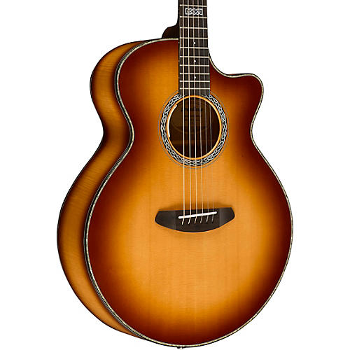 Breedlove Legacy Auditorium Black Shadow CE Sitka Spruce - Myrtlewood Acoustic-Electric Guitar-thumbnail