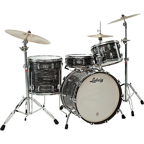 Ludwig Legacy Classic Liverpool 4 Floor Tom 16 x 16 in. Black Oyster Pearl