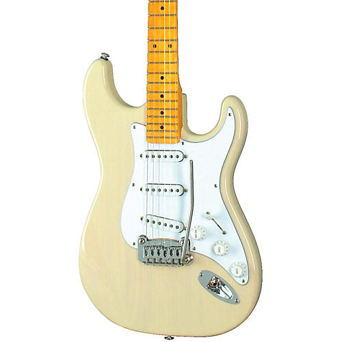 G&L Legacy Electric Guitar with Tinted Maple Neck Blonde