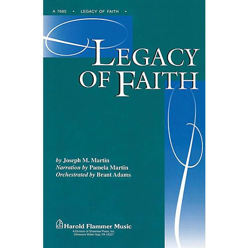 Shawnee Press Legacy of Faith Preview Pak arranged by Brant Adams-thumbnail