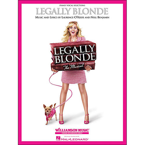 Hal Leonard Legally Blonde Piano/Vocal Selections arranged for piano, vocal, and guitar (P/V/G)-thumbnail