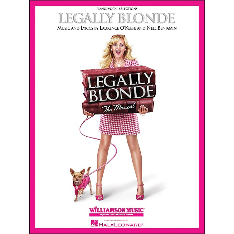 Hal LeonardLegally Blonde Piano/Vocal Selections arranged for piano, vocal, and guitar (P/V/G)
