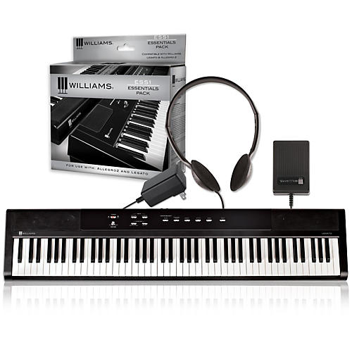 Williams Legato Digital Piano with ESS1 Essentials Pack