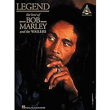 Hal Leonard Legend - The Best of Bob Marley And The Wailers Guitar Tab Songbook