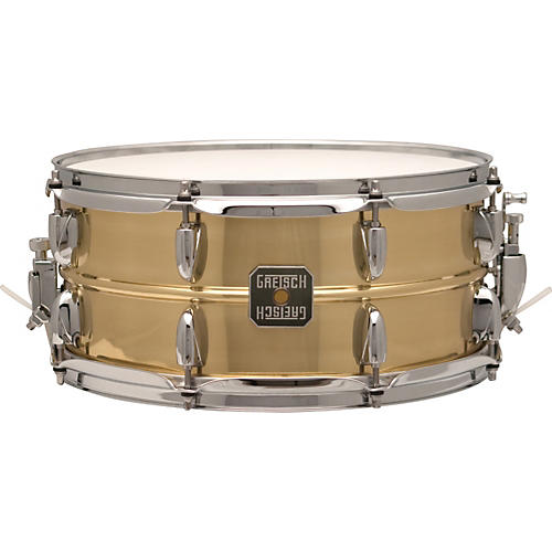 Gretsch Drums Legend Brass Snare Drum 14 x 6.5 in.
