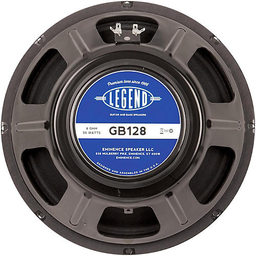Eminence Legend GB128 50W Guitar Speaker