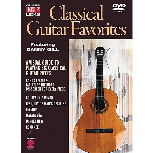 Cherry Lane Legendary Licks Classical Guitar Favorites DVD