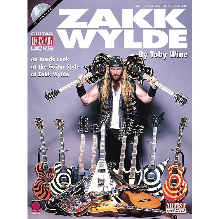 Hal LeonardLegendary Licks Zakk Wylde Book with CD