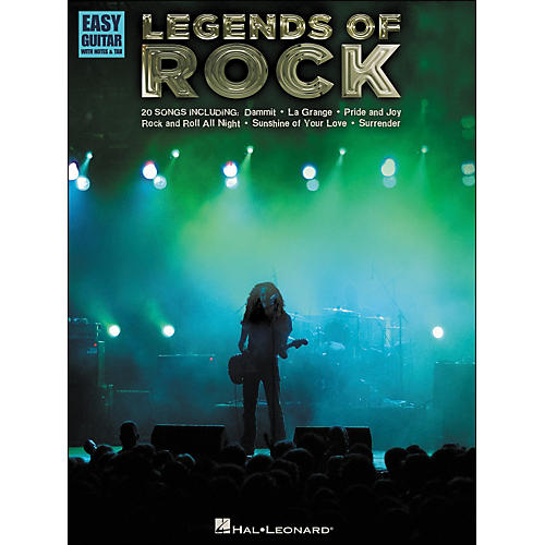 Hal Leonard Legends Of Rock - Easy Guitar Tab
