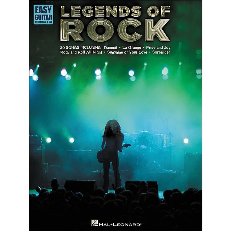 Hal LeonardLegends Of Rock - Easy Guitar Tab