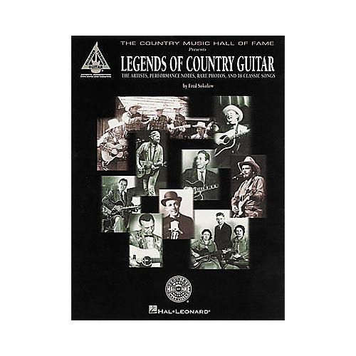 Hal Leonard Legends of Country Guitar Tab Book
