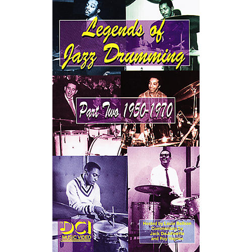 Alfred Legends of Jazz Drumming, Part 2 1950-1970 Video